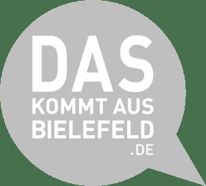 Das kommt aus Bielefeld Logo
