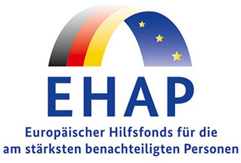 EHAP Europäischer Hilfsfonds für die am stärksten benachteiligten Personen
