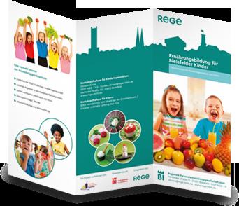 Ernährungsbildung für Bielefelder Kinder Flyer